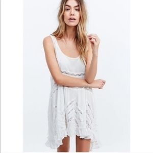 intimately free people white trapeze slip
